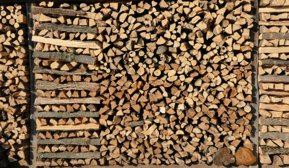 Holz richtig stapeln