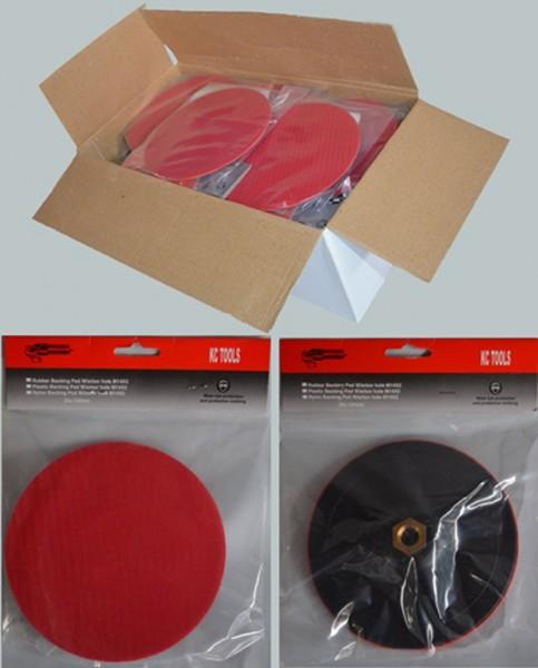 20 x Klettteller / Polierteller 180 mm