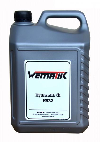 Hydrauliköl HV32 5 Liter inkl. Ölkanister