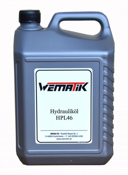Hydrauliköl HPL46 5 Liter inkl. Kanister