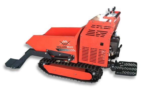 Minidumper Calgary (Selbstlader) mit Trittbrett und hydrostatischen Getriebe, Motorschubkarre, Kette