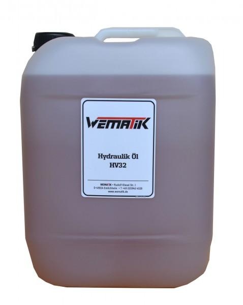 Hydrauliköl HV32 20 Liter inkl. Ölkanister